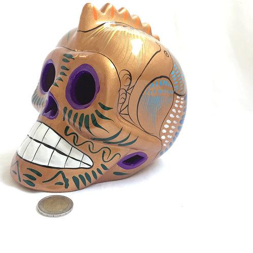 Mario Punk skull