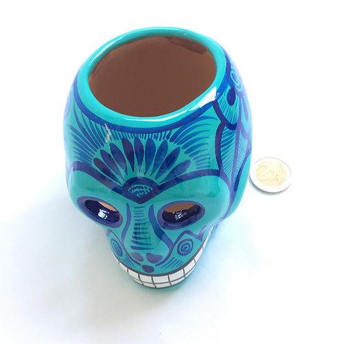 Pedro Flower pot skull