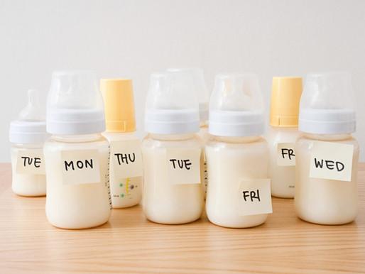 Pregunta de la semana: ¿Puedo mezclar mi leche materna extraída de diferentes días?