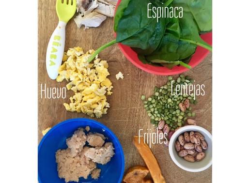 Alimentos ricos en hierro que no deben faltar en tu bebé