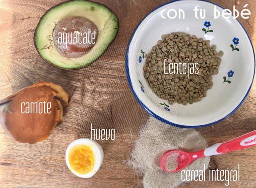Los 7 mejores alimentos para iniciar sólidos con tu bebé