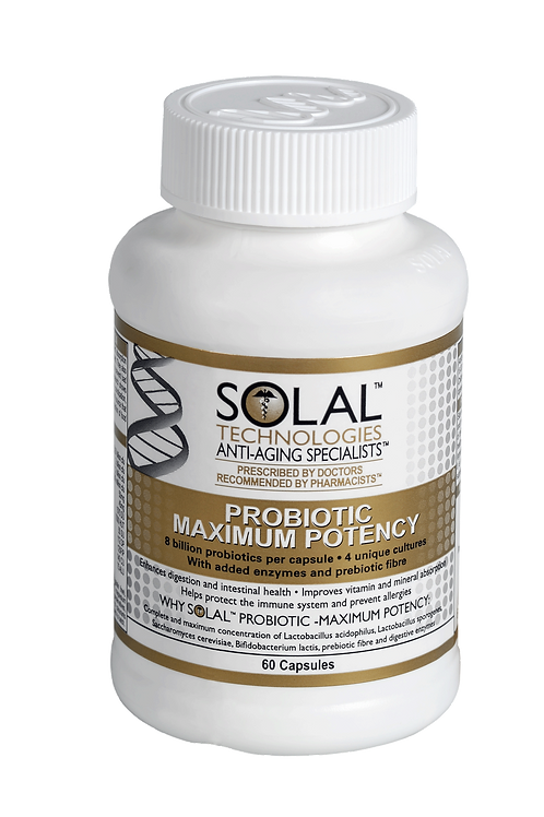 Solal Probiotic Maximum Potency