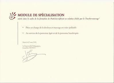 certificat ptm