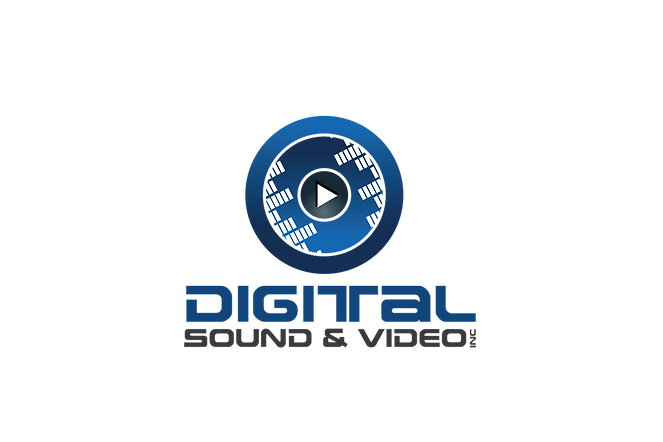 Digital Sound & Video Logo