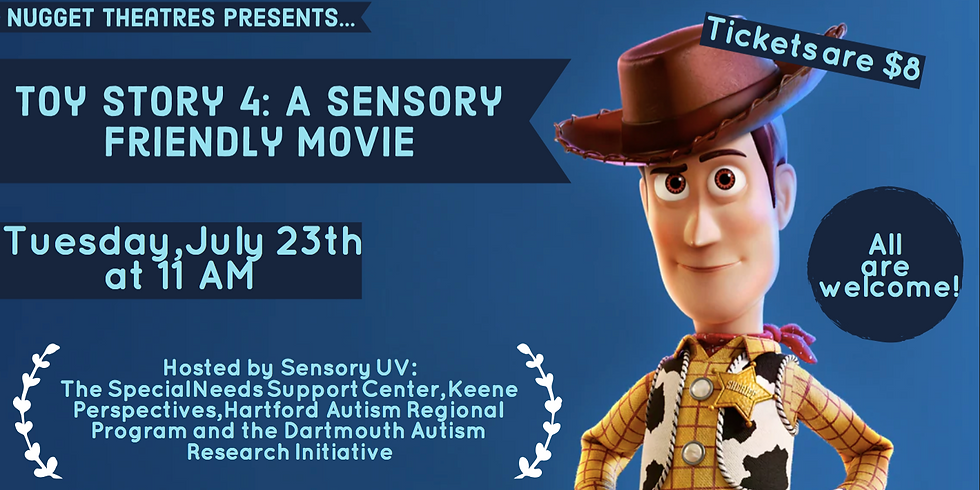 Movie: Toy Story 4 at the Nugget