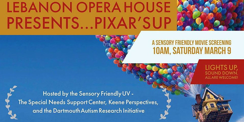 Movie: Pixar's UP! at Lebanon Opera House