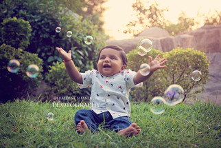 Baby photography - Dev 9 months baby photo session