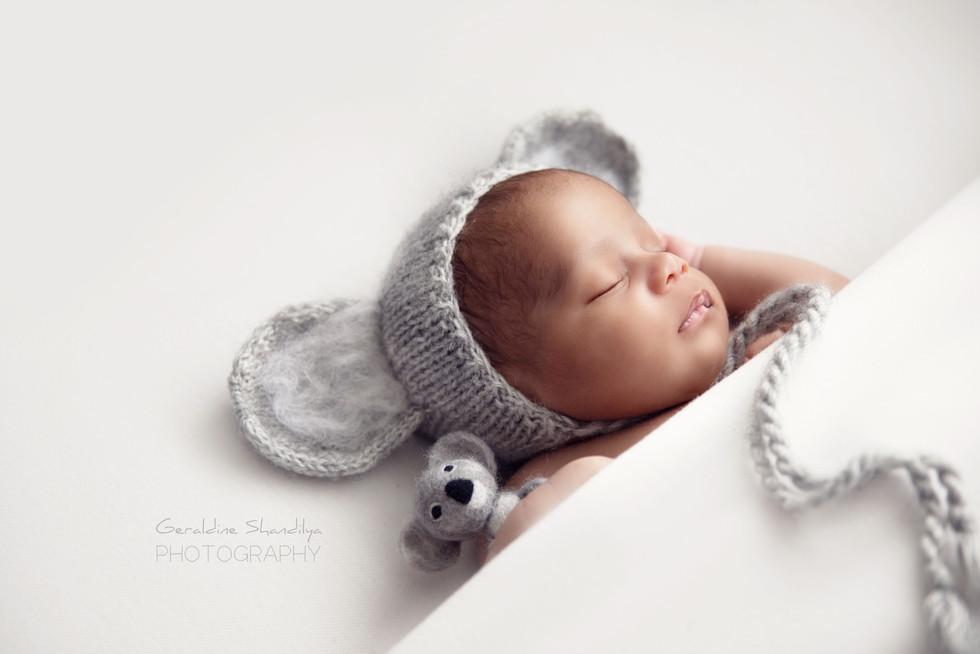 Séance photo nouveau né