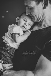 Séance photo bébé à domicile près de Rouen