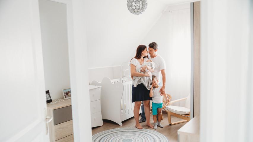 Seance photos famille à domicile