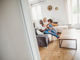 Séance photos avec Anna, Leo et leur famille