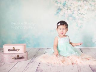 Nessa, 7 months old baby girl photography - Photographie d'un bébé de 7 mois