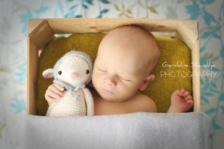 Photographie du nouveau né Clement, bébé de 11 jours