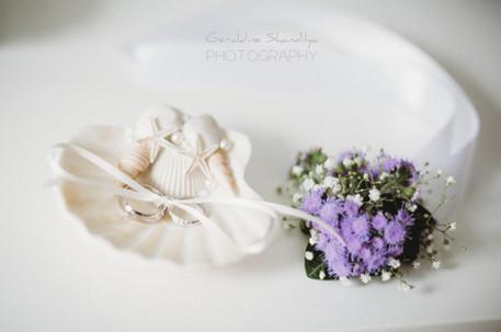 Photographie des alliances, mariage Rouen