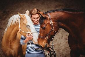 Séance photo chevaux