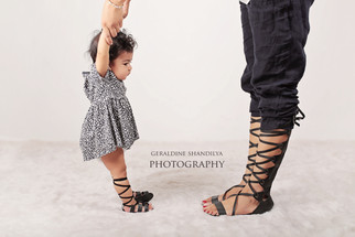 Aira 6 months baby photos