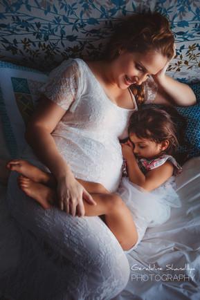 Seance photo grossesse à domicile à Rouen