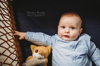 Séance photo avec bébé Robin et sa famille