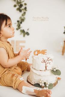 Séance photo Cake smash à Rouen
