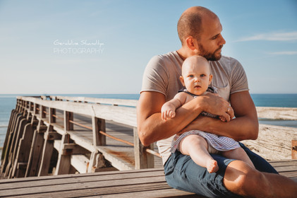Baby photoshoot in Veules les Roses Normandy