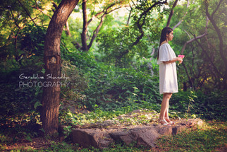 Portfolio portrait photoshoot with Isha