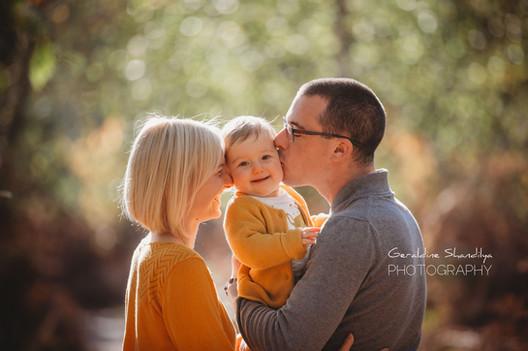 Séance photo bébé famille à Rouen