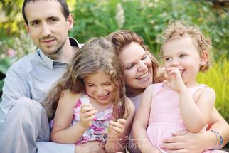 Séance photo famille au parc