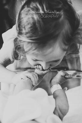 Photos à la maternité - Rouen Normandie
