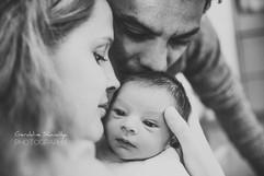 Photographie de nouveau né en maternité