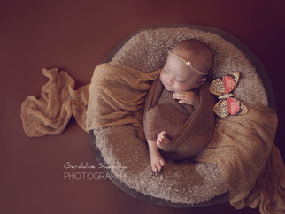 Shivaan & Shivaanya, newborn twins photoshoot