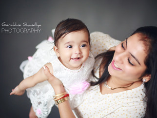 Meher, 7 months baby photoshoot