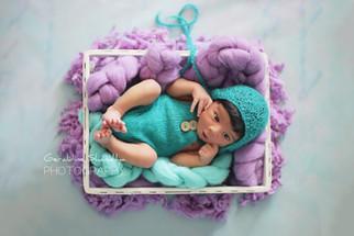 Newborn photography - Arav, 11 days baby photoshoot