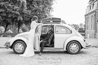 Photographie de mariage avec Eva et Julien, été 2017 - Rouen Normandie, France