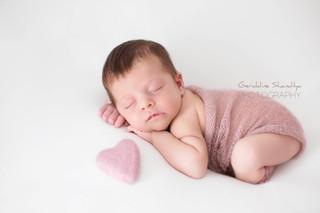 Photographie nouveau né bébé Rouen Normandie