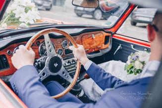 Photographie des mariés, mariage Rouen