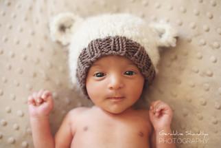 Newborn photoshoot - Aashvi, 23 days old baby