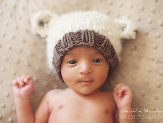 Newborn photoshoot - Aashvi, 23 days old baby