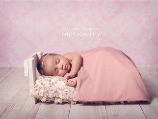 Baby photography - Mishka, 45 days newborn baby photo session