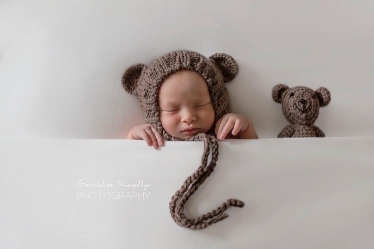 Photographe nouveau né bébé Rouen Normandie