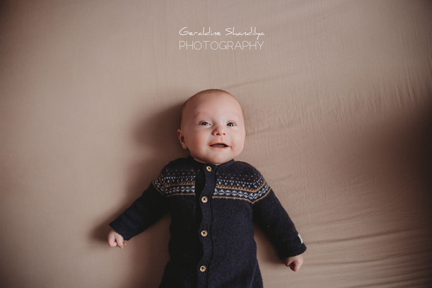 Baby photoshoot in Rouen Normandy