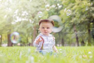 Photos d'Augustin, bebe de 8 mois, en France