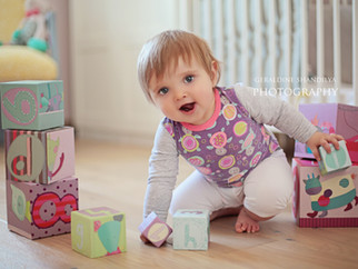 Charlize - 1 year baby toddler photos