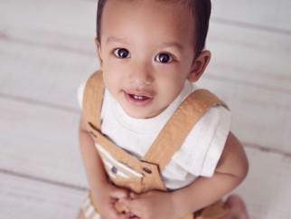 Photographie de bébé Riyansh, 9 mois
