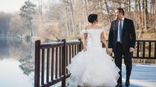 Sabine & Frédéric, mariés d'hiver