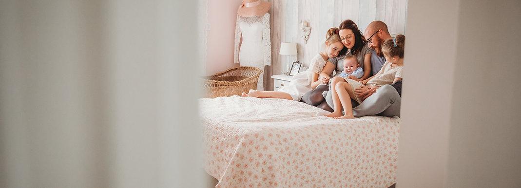 Séance photo bébé à domicile Rouen