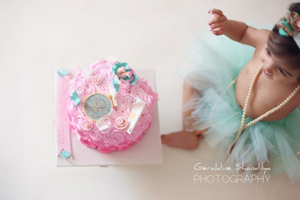 Baby cake smash photographer in Delhi