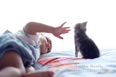 Toddler baby photography in Rouen France