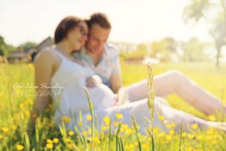 Séance photo de grossesse avec Claudie et Sebastien, cet été à Yvetot, Normandie, France
