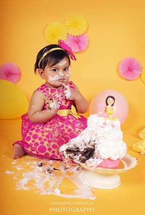 Baby caske smash photography Delhi India