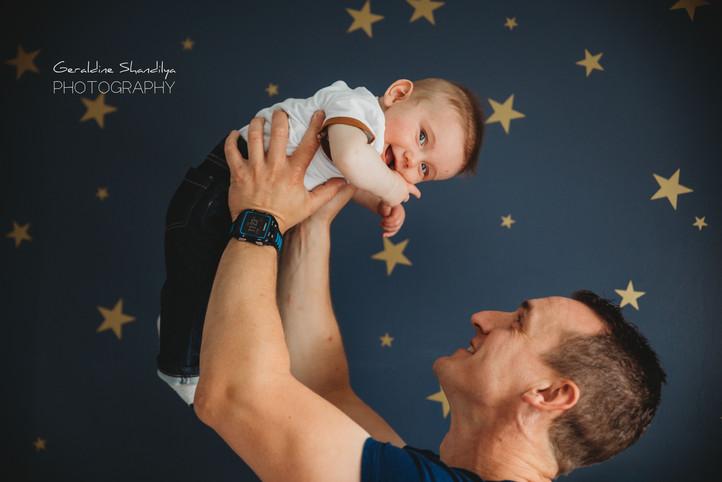 Photoshoot bébé à domicile près de Rouen